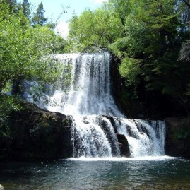 Cascada de Mallín Ahogado - El Bolsón