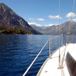 Navegación en velero - Lago Epuyén - El Hoyo